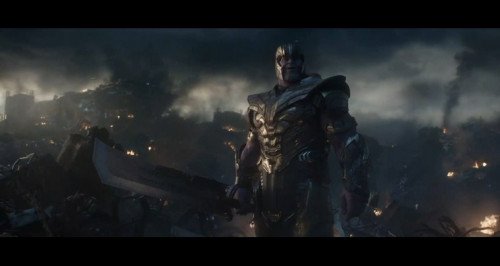 Screenshot of Avengers endgame