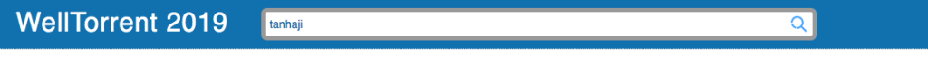 Screenshot of searched tanhaji in welltorrent.xyz